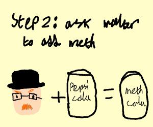 Step1: create knock off called Pespi Cola
