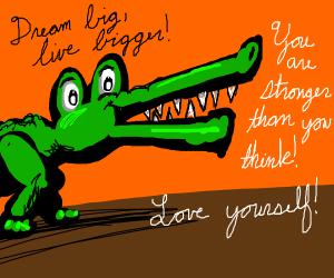 Aspirational crocodile