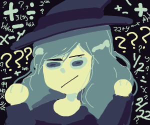 Witch doesn't understand equations