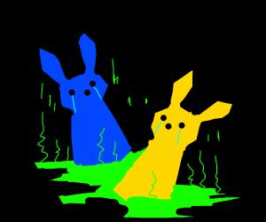 decomposing bunnies in acid in chernobyl