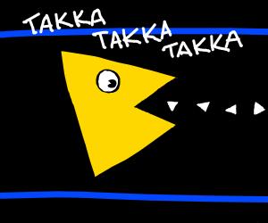 pacman triangle