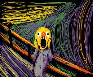 Yellmo in the scream