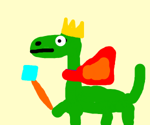 King Dinosaur!