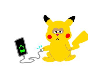 Pikachu's electric power