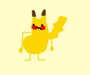 Digestive pikachu