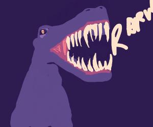 A really really really angry dino.