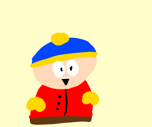 A South Park character