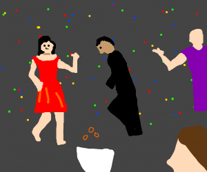 Toast dance party
