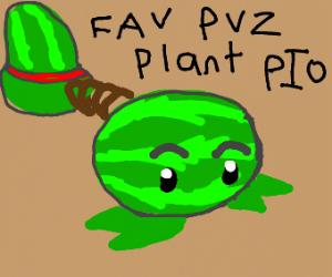 Favorite PVZ Plant PIO