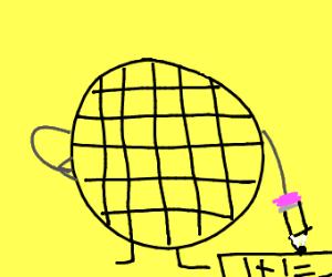 waffle does math