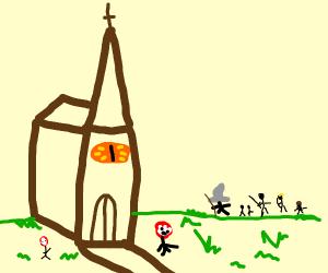 The church of sauron