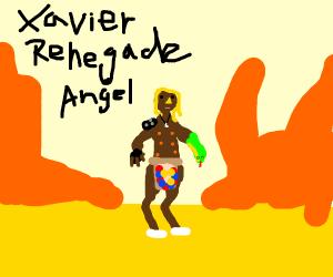 Xavier Renegade Angel in the desert