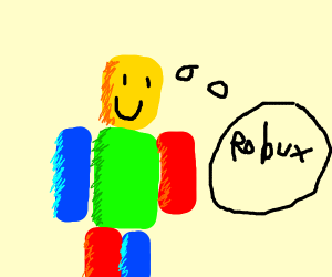 a noob thinking of robux