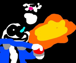 Sans just nuked the earth