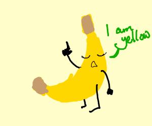 banana stating the obvious