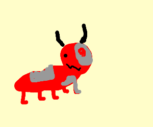 Red ant robot