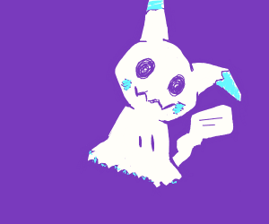 Mimikyu gives us the death stare