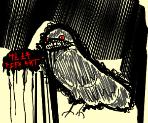 demon crow from hell