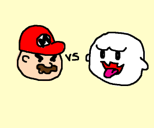 Evil SM64 Piano vs. Boo