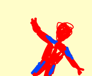 Spiderman in space!!!