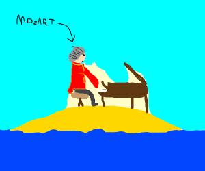 Mozart on an Island