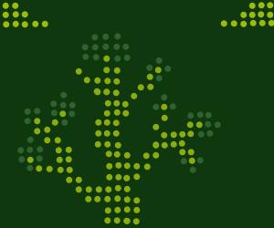 Pixelized tree