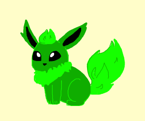 flareon but green!?