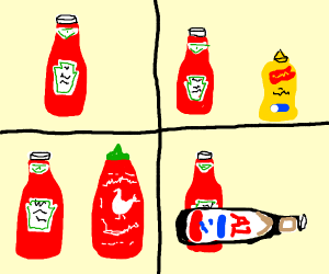 loss with hot sauce