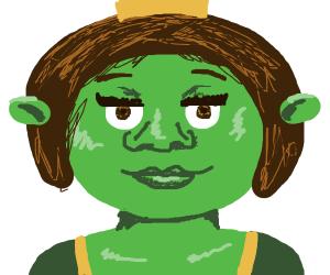 Female Shrek.