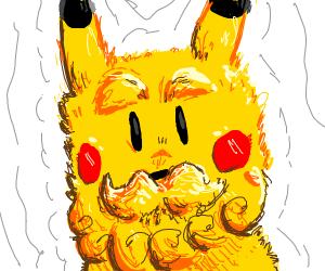 Unshaven Pikachu