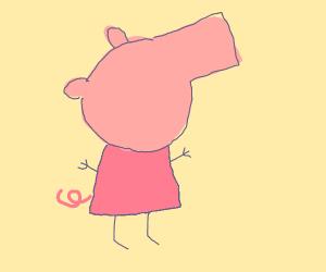 Faceless Peppa