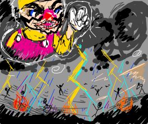 Wario is god of weather