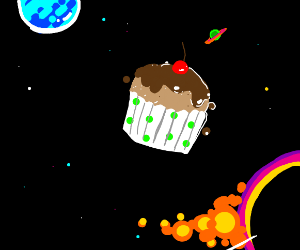 Muffin in Space