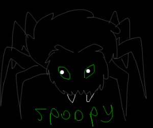 Spoopy spider