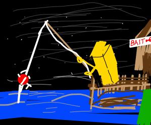 Butter fishing