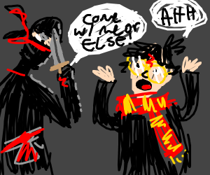 Ninja kidnaps Harry Potter