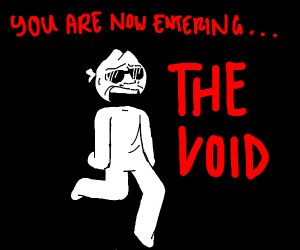 Cool dude enters the void