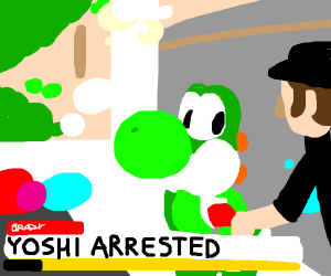 Yoshi arrested for not paying taxes