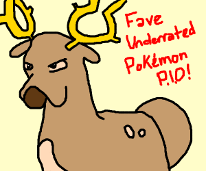 Fave Underrated Pokemon