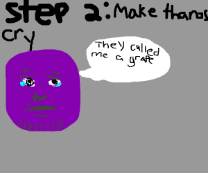 STEP 1: Know Thanos personally