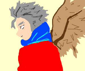 Hawks (best boi) from Boku no Hero Academia