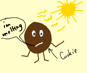 Melting cookie