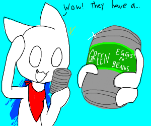 Green Eggs and Beans