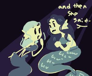 mermaid gossip