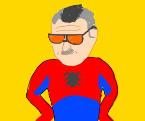 stan lee as a super hero