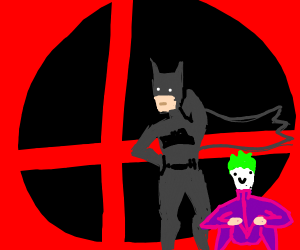 Batman and The Joker for Smash