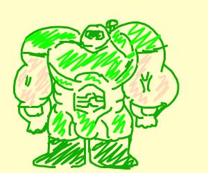 Hulk but beefier