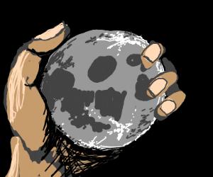 you take the moon