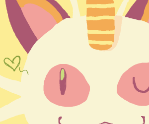 Pokemoncat from the Rocket team but cute