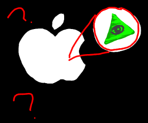 The Illuminati Controls Apple
